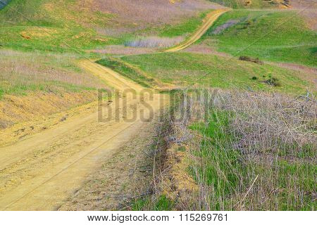 Trail in Hills