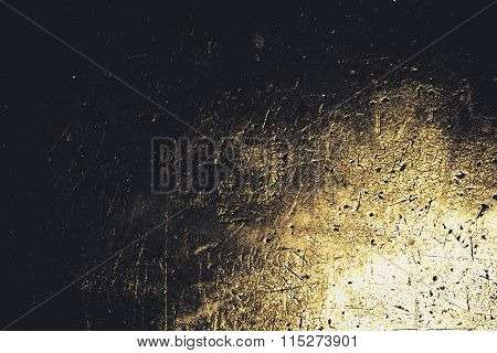 Abstract Black Rubber Texture