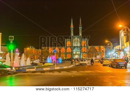Yazd by night