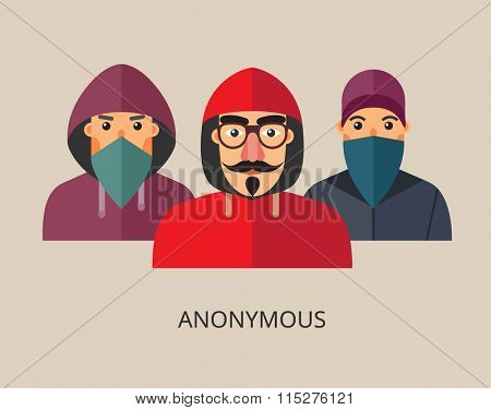 An anonymous hacker team