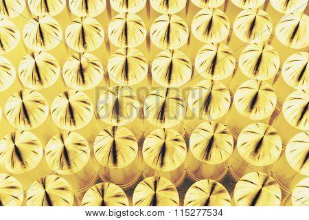Metal Cap Dye In Yellow