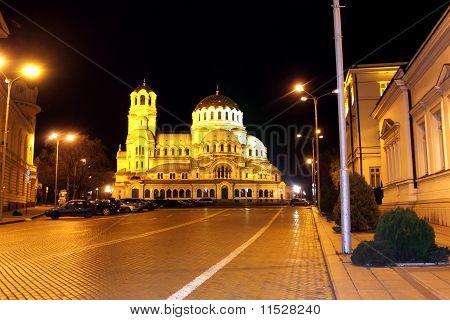 Central square in Sofia