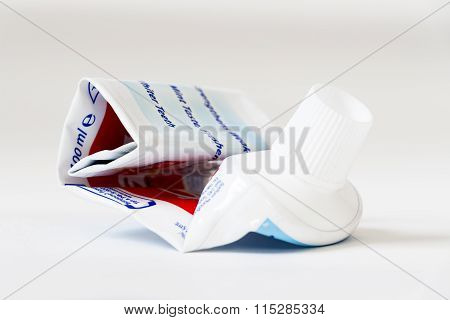 The Empty Tube Of Toothpaste