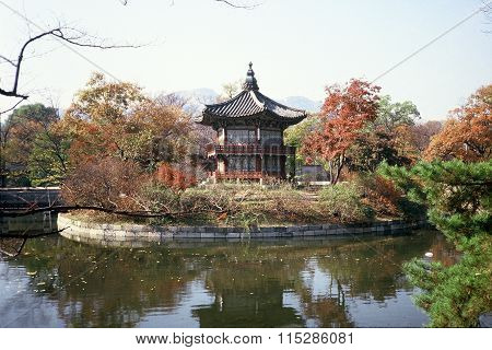 Pavilion at the Gyeongbok Palace