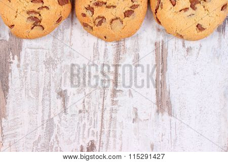 Frame Of Cookies Or Biscuit, Copy Space For Text