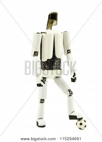 robot football player