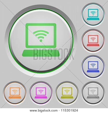 Wireless Computer Push Buttons