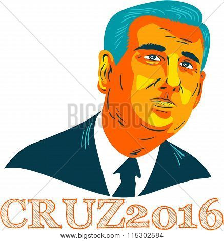 Cruz President 2016 Republican Wpa