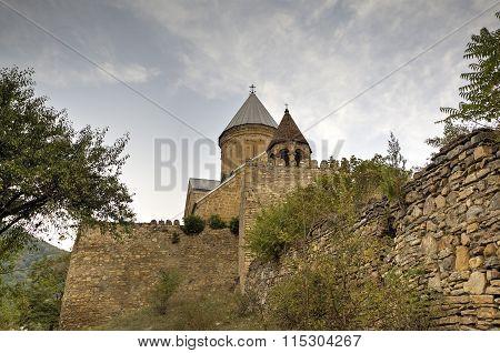 Medieval Ananuri Castle. Georgia