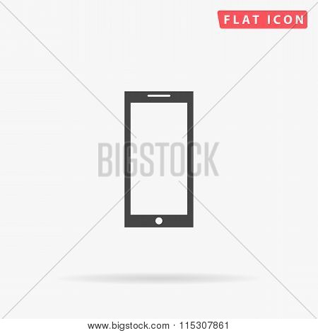 Smartphone simple flat icon