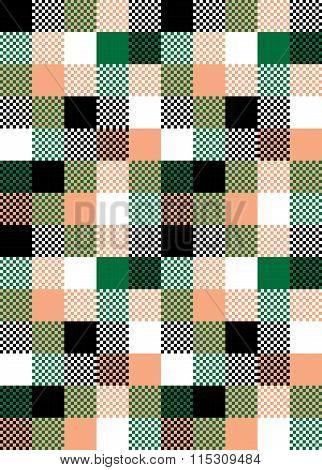 Vector Seamless Repetaing Japanese Pattern Illustration