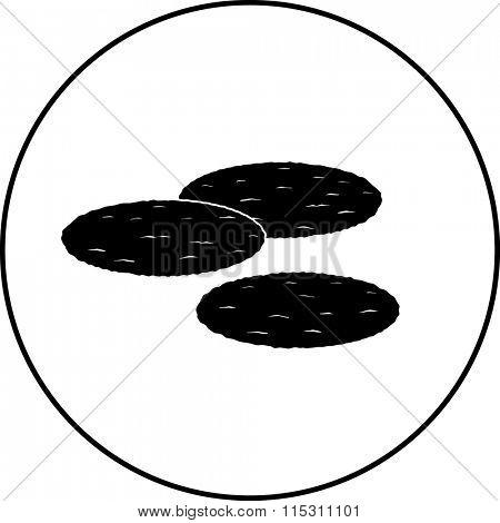 mexican tostadas symbol