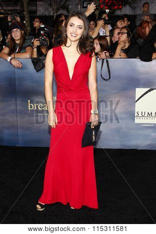 Kathryn McCormick at the Los Angeles Premiere of