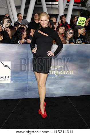 Nancy O'Dell at the Los Angeles Premiere of