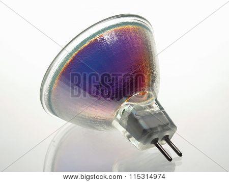 Halogen incandescent lamp socket G4