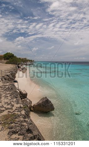 Caribbean Beach Bonaire Island