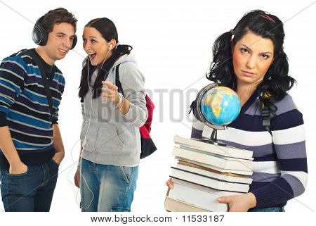 Students Gossip And Joke