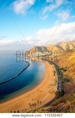 Teresitas beach in Santa Cruz de Tenerife