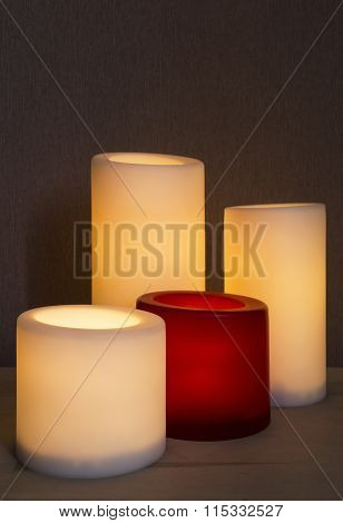Group Of Candles
