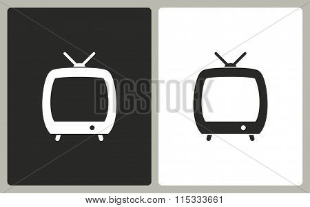 Tv - Vector Icon.