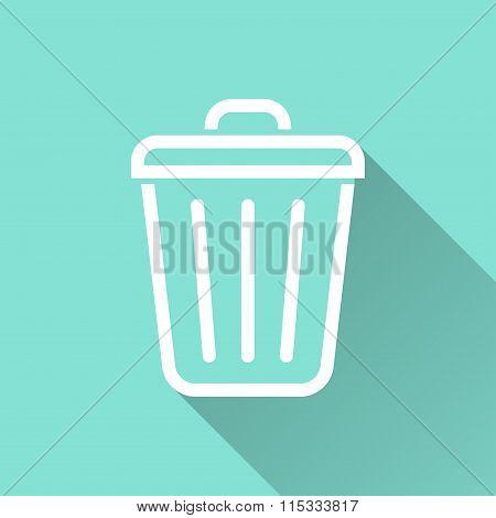 Bin - Vector Icon.