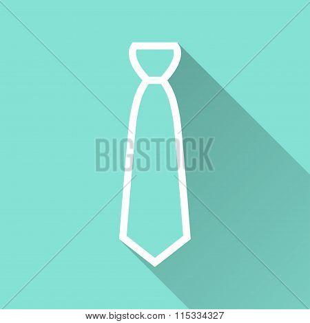 Necktie - Vector Icon.