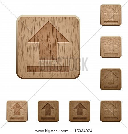 Upload Wooden Buttons