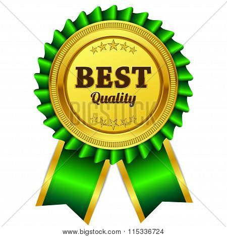 Best Quality Green Seal Vector Icon
