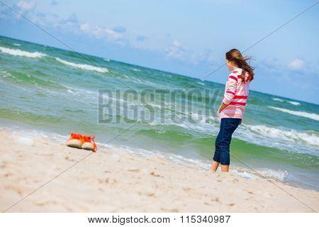 Girl And The Sea