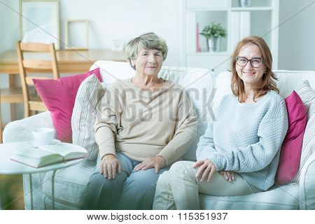Senior Care Assistant With Patient