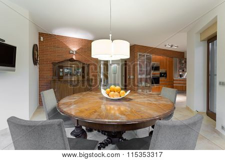 Breakfast Table In Deluxe Villa