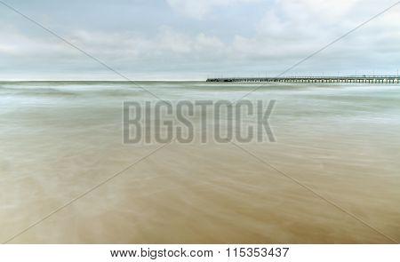 Baltic Sea Captured In Winter