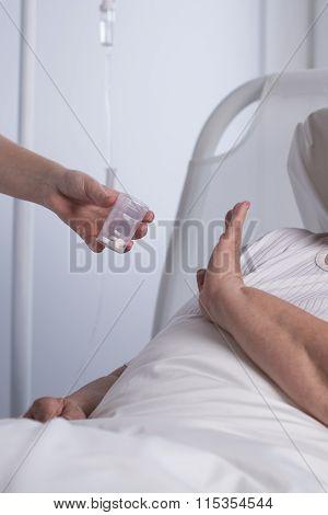 Patient Refusing To Take Medication