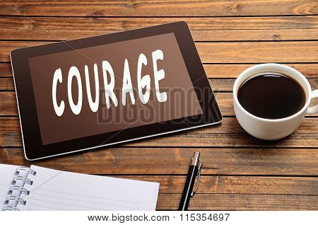 Courage Word