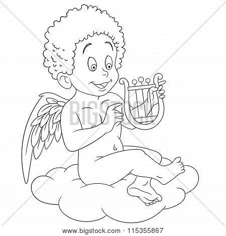 Cute Cartoon Cupid