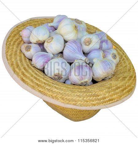 Hat With Garlic.