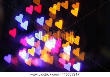 star glowing lights