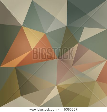 ABSTRACT MODERN DESIGN BACKGROUND-low poly