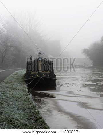 Narrow Boat on a canal