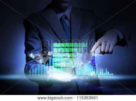 Virtual technologies in work