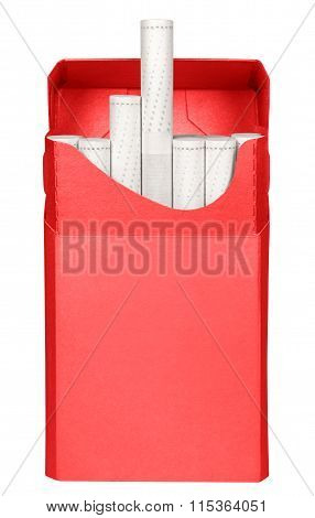 Cigarettes Box - Opened-red