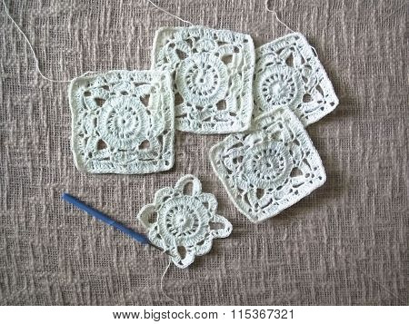 square motif crochet