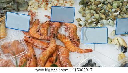 Prawns And Seafood For Sale