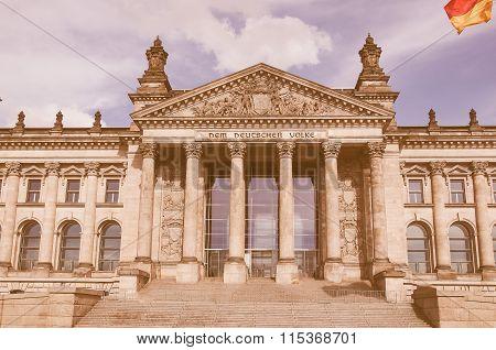 Reichstag Berlin Vintage