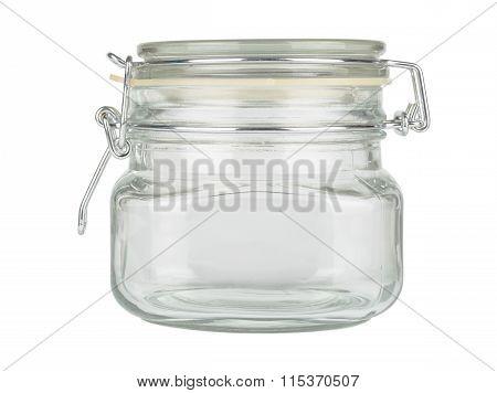 Glass Jar With Cap