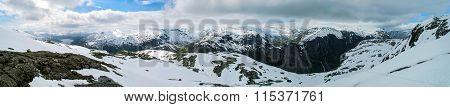 Norway Mountain Panorama