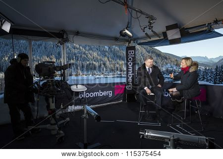 World Economic Forum In Davos (switzerland)