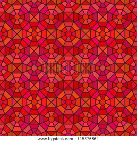 Seamless Mosaic Pattern In Octagon Concept