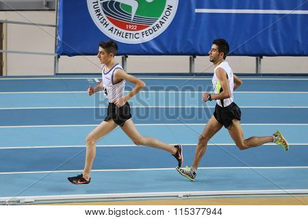 Turkish Athletic Federation Olympic Threshold Indoor Competitions