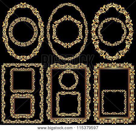 Golden Frames